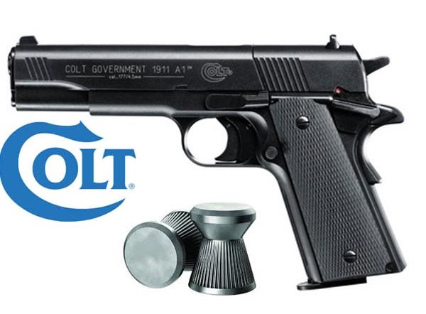 Colt Goverment 1911 CO2-es légpisztoly, UM7140000