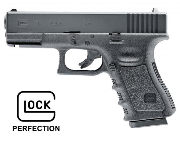 Glock 19 CO2-es légpisztoly, UM58358