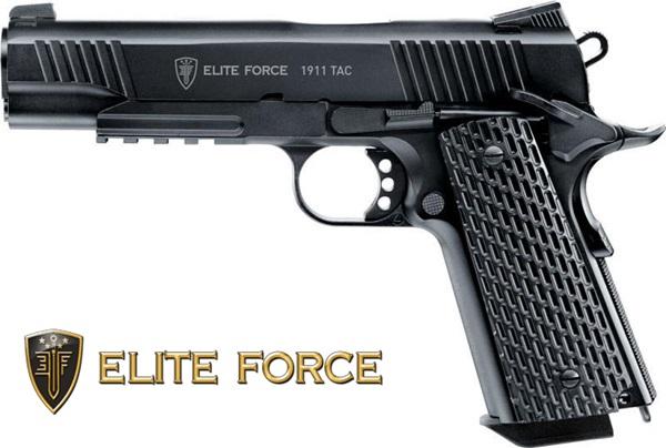 Elit Force 1911 TAC Co2 airsoft, 6mm BB, UM25955