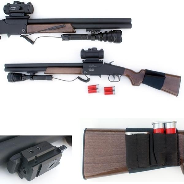 G-ShooT 4Matic DeLuxe gumilövedékes puska cserélhető tárral, weaver sínekkel
