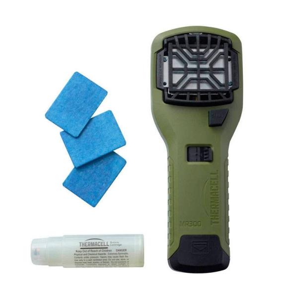 Thermacell kézi szúnyogriasztó készülék, olívzöld, THEMR-G