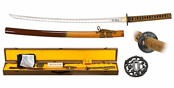 Imperial szamurájkard carbon steel pengével, 32325