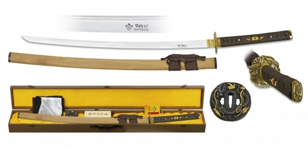 Imperial szamurájkard damaszk pengével, 32324
