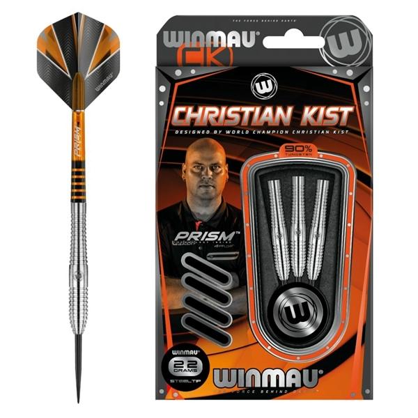Winmau steel Christian Kist 90% dart szett, 1007.22