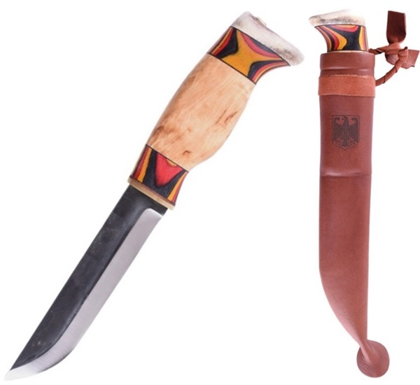 Wood Jewel Karhuleuku, színes markolattal, 23KLDE