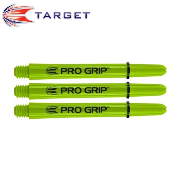 TARGET Pro Grip műanyag dart szár, zöld