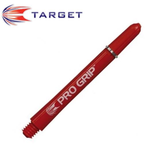 TARGET Pro Grip műanyag dart szár, piros