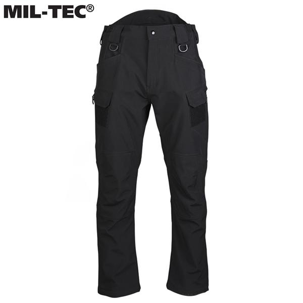 """Mil-Tec® """"Assault"""" softshell nadrág 5000 mm, fekete, 11380002"""