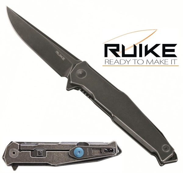 Ruike Stainless Steel Safety Plus Stonewash, P108-SB