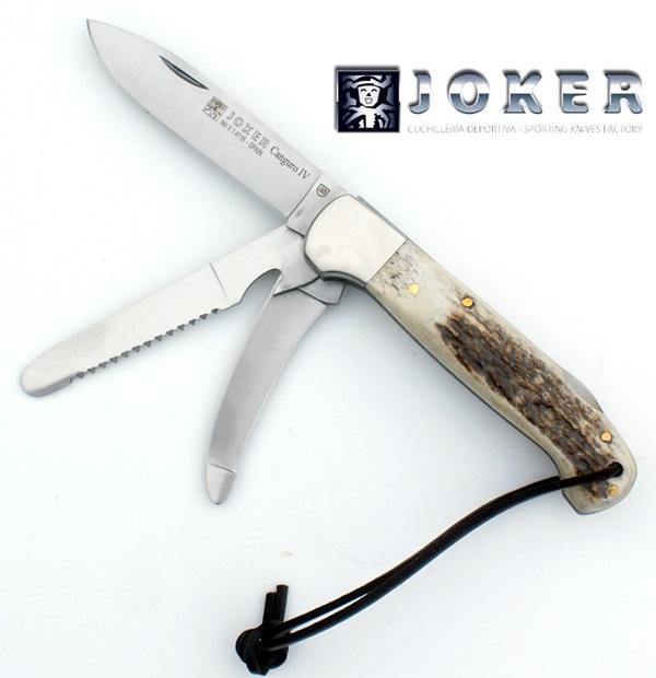 Joker vadászbicska agancs markolattal, NC-128