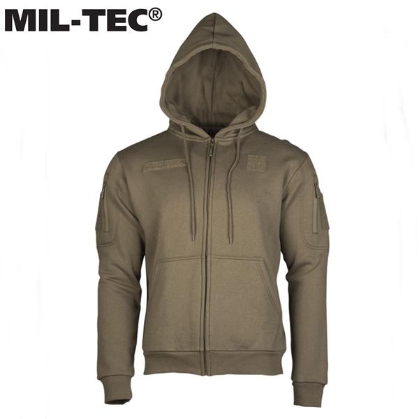 Mil-Tec® kapucnis pulóver, oliv, 11472012