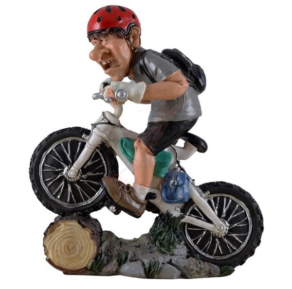 Funny World MTB kerékpáros figura, 815-9654