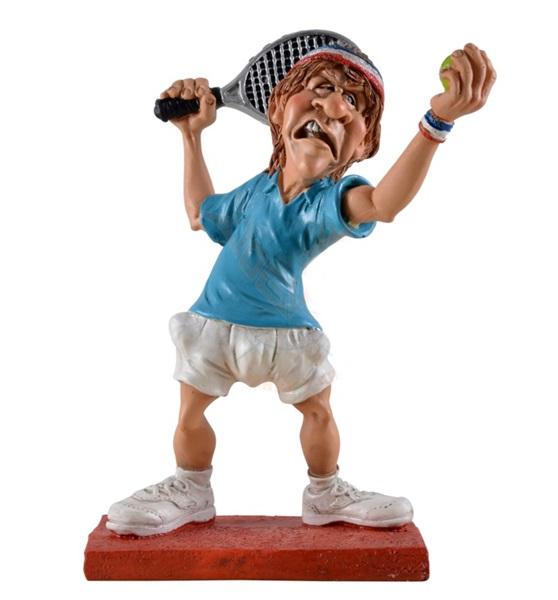 Funny World teniszező figura, 815-9444