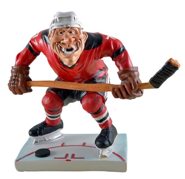 Funny World jégkorongjátékos figura, 815-9043