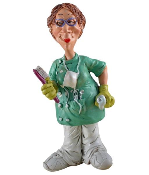 Funny World fogorvosnő figura, 815-9114