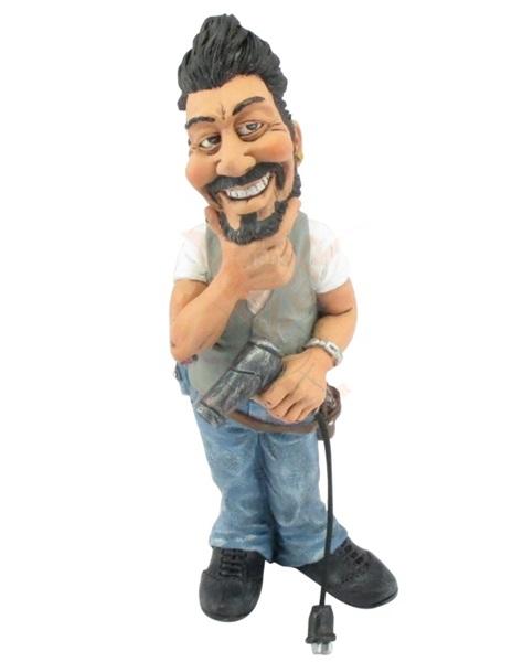 Funny World fodrász figura, 815-9586