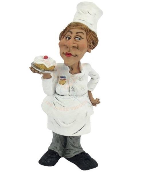 Funny World cukrásznő figura, 815-2041