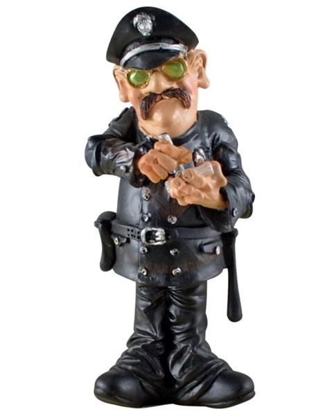 Funny World rendőr figura, 815-2001