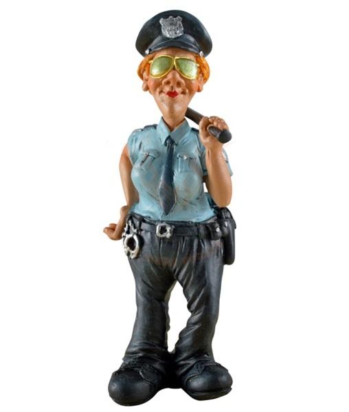 Funny World rendőrnő figura, 815-1803