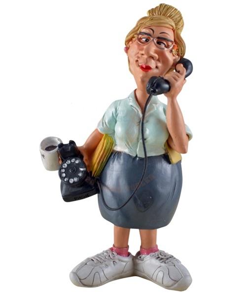 Funny World titkárnő figura, 815-2050
