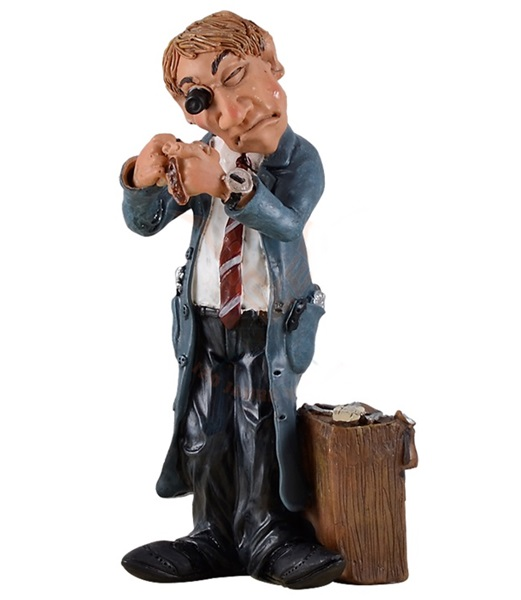 Funny World órásmester figura, 815-9748