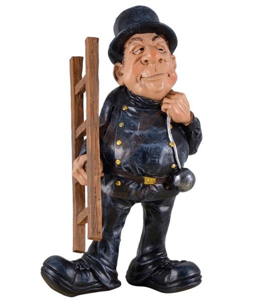 Funny World kéményseprő figura, 815-9513