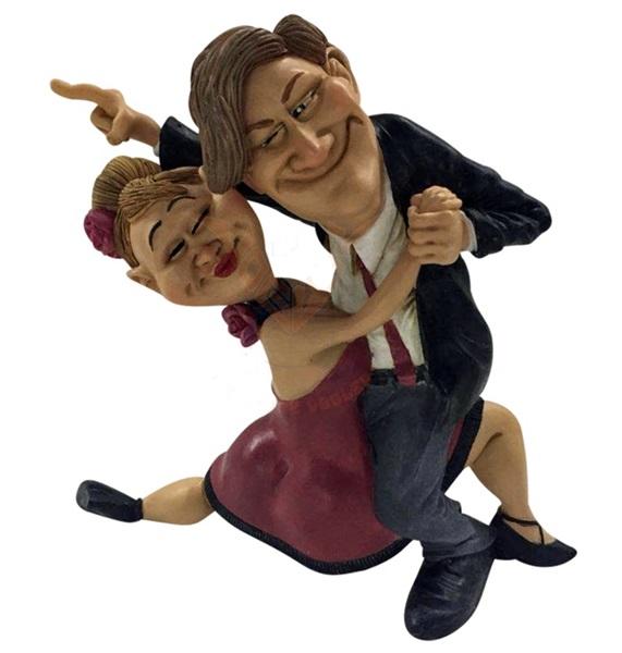 Funny World táncoló pár figura, 841-1034