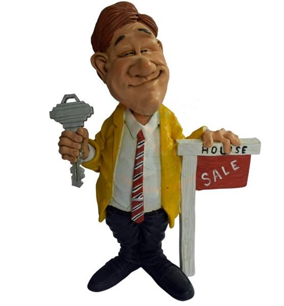 Funny World ingatlanközvetítő figura, 841-1008