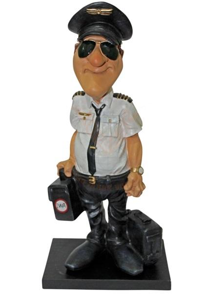 Funny World pilóta figura, 841-2301