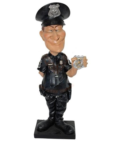 Funny World rendőr figura, 841-2329