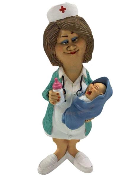 Funny World szülésznő figura, 841-1005