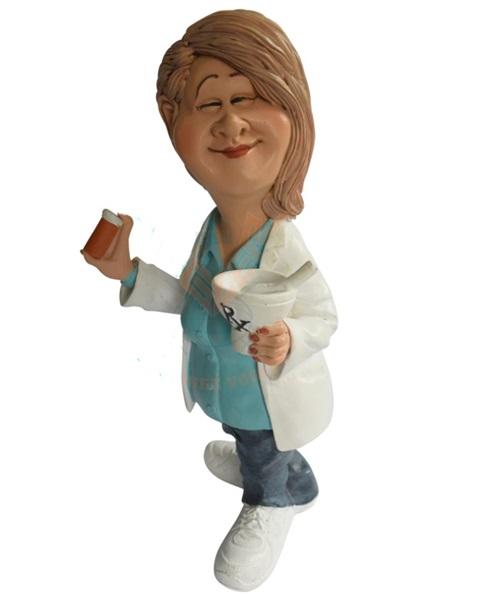 Funny World gyógyszerésznő figura, 841-1012