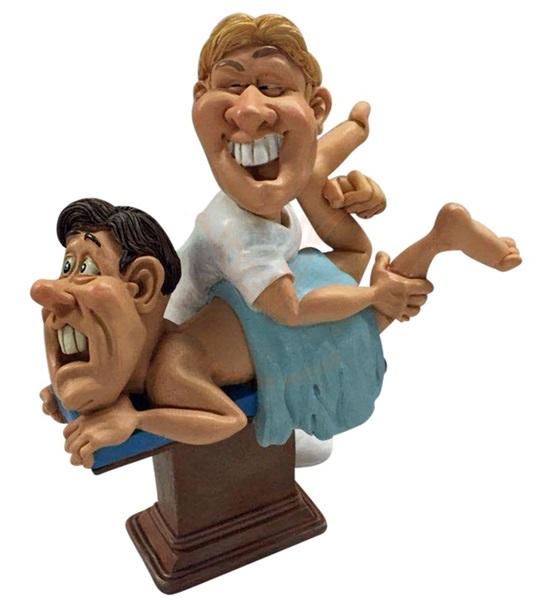 Funny World masszőr figura,841-1027