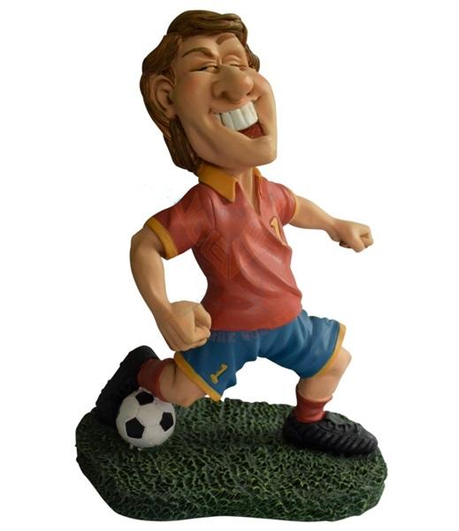 Funny World focista piros mezben figura, 841-1009