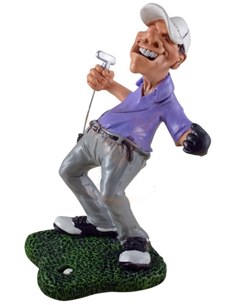 "Funny World golfozó figura, ""Hole-in-one"", 815-9015"
