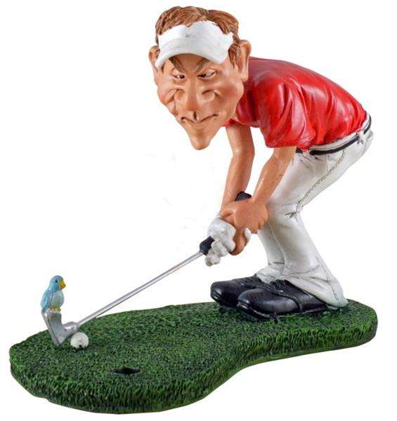 "Funny World golfozó figura, ""Birdie"", 815-9002"