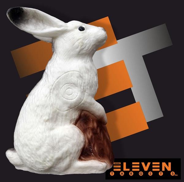 Eleven 3D cél, fehér nyúl, E36a