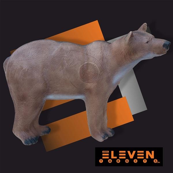 Eleven 3D cél, barnamedve cserélhető betéttel, E54