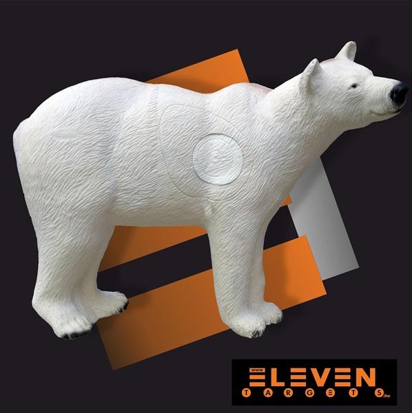 Eleven 3D cél, jegesmedve cserélhető betéttel, E54