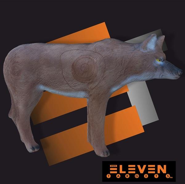 Eleven 3D cél, farkas cserélhető betéttel, E53