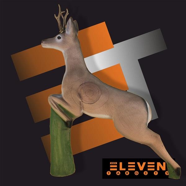 Eleven 3D cél, ugró őz cserélhető betéttel, E46