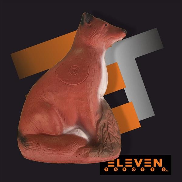 Eleven 3D cél, róka, E1