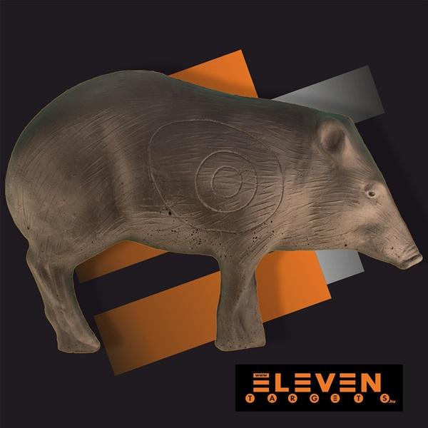 Eleven 3D cél, pekari, E3