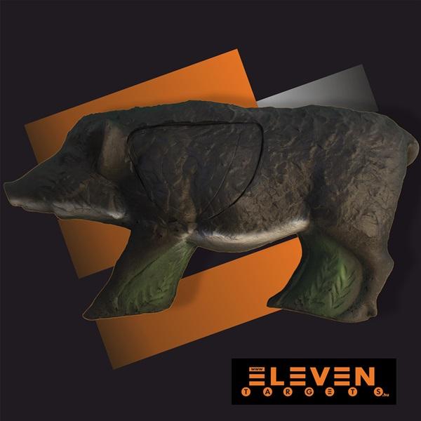 Eleven 3D cél, vaddisznó cserélhető betéttel, E8