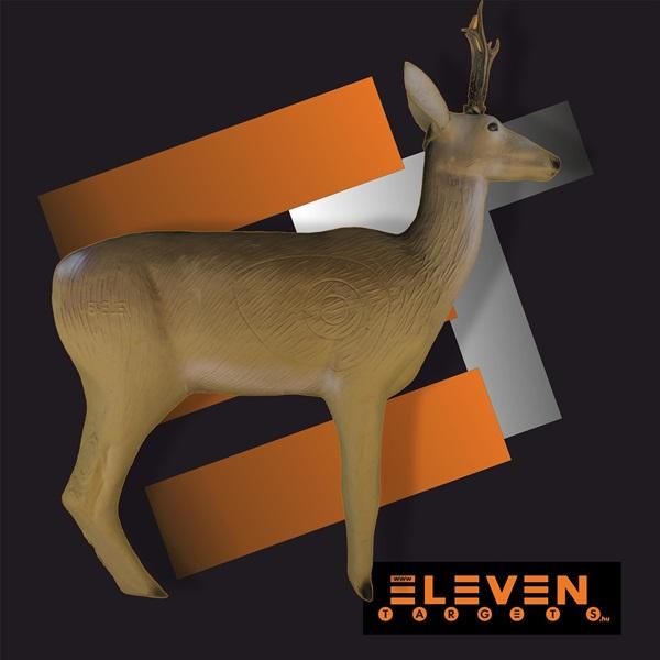 Eleven 3D cél, őz, E11