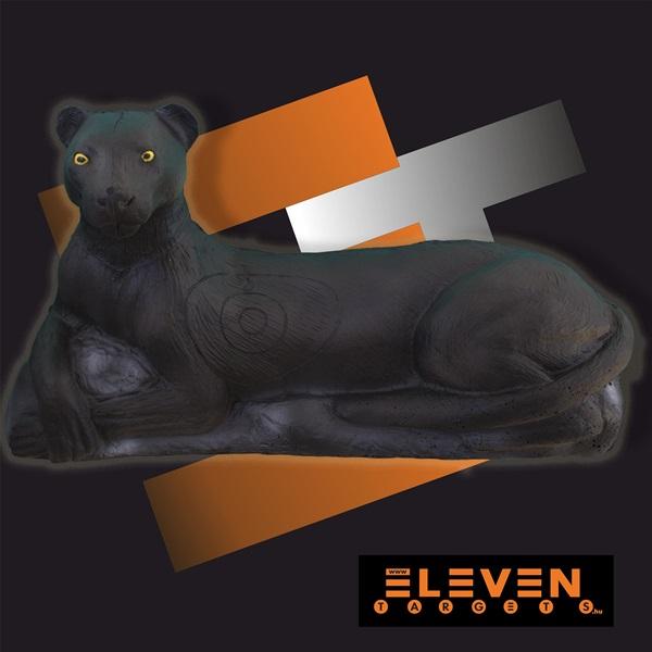 Eleven 3D cél, fekete párduc, E14