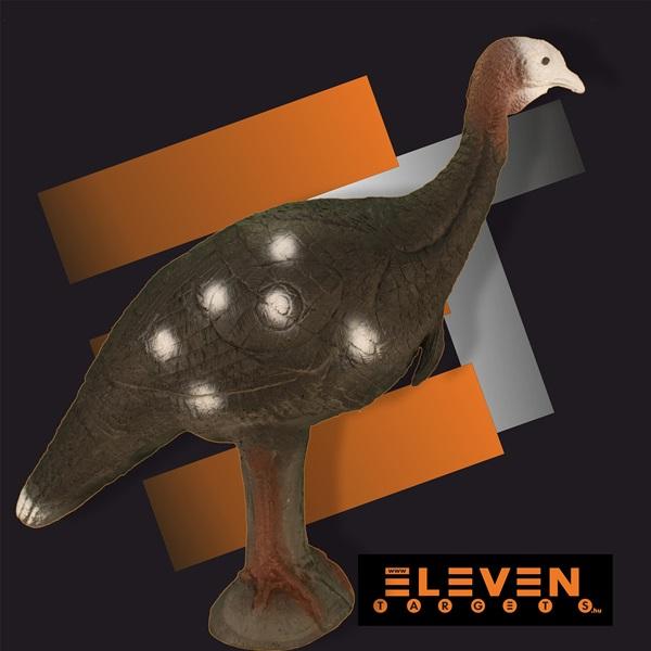 Eleven 3D cél, pulyka, E26