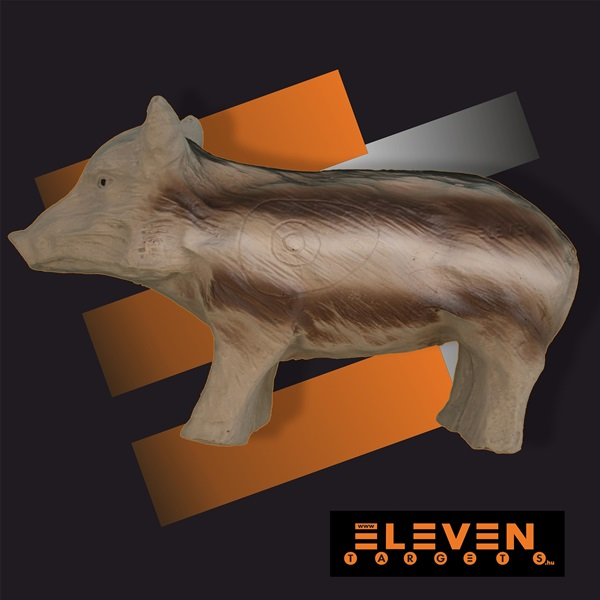 Eleven 3D cél, kismalac, E27