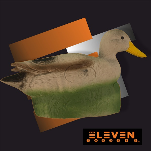 Eleven 3D cél, vadkacsa, E33