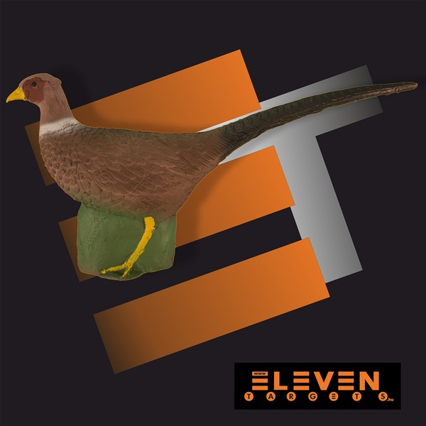 Eleven 3D cél, fácán, E34